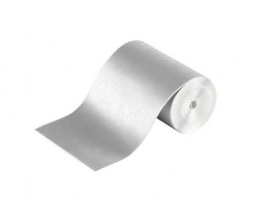 Brushed Aluminium Adhesive Film Protection Anti Scratch Self Adhesive 80mm x 5m